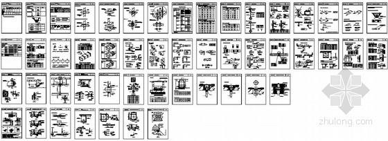 暖通施工节点标准图集