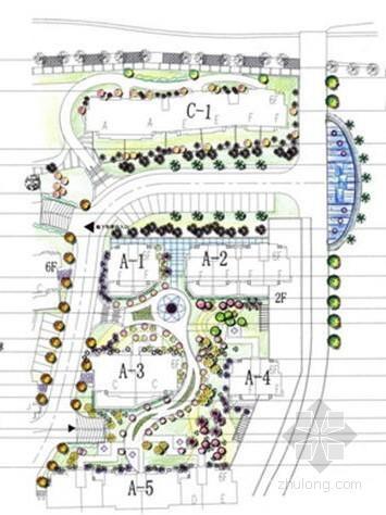 欧式居住小区方案资料下载-欧式小区景观规划设计方案