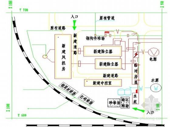 [云南]钢结构除尘车间施工组织设计