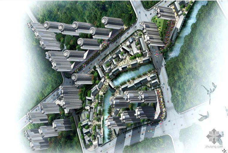 [南京]镇江市古运河某桥段景观规划1