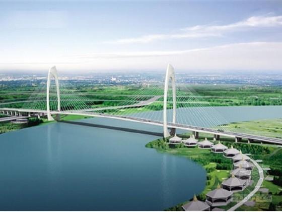 [广西]跨江大桥高137m双曲面变截面弧形主塔施工方案及计算187页(附图纸195张)
