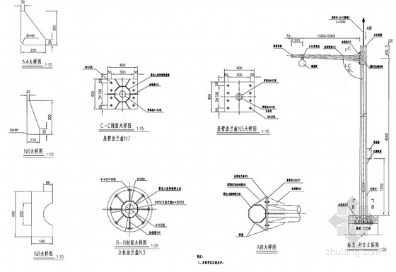 [浙江]特大桥梁和长大隧道视频监控系统工程施工图设计38张