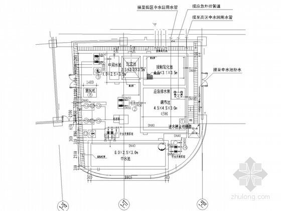 [上海]35万平米世界著名房地产公司大楼项目中水图纸(国际知名设计师)