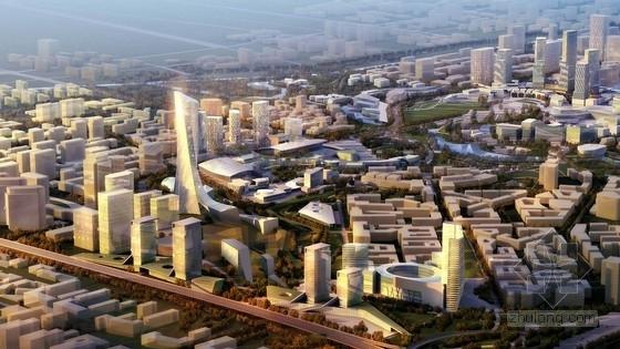 [北京]绿色可持续性国际商贸区总体规划设计方案文本