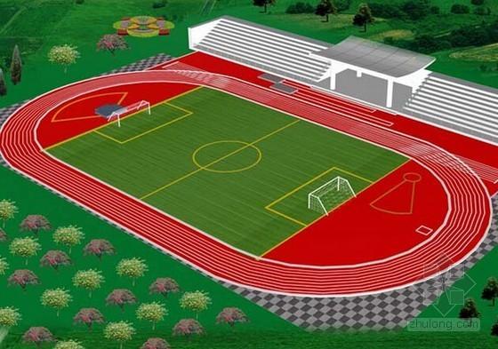 [重庆]中学新建环形胶运动场工程施工招标文件(含施工图纸)