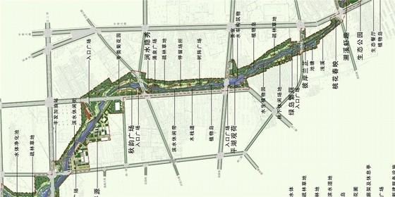 [唐山]滨水城市道路景观规划设计方案
