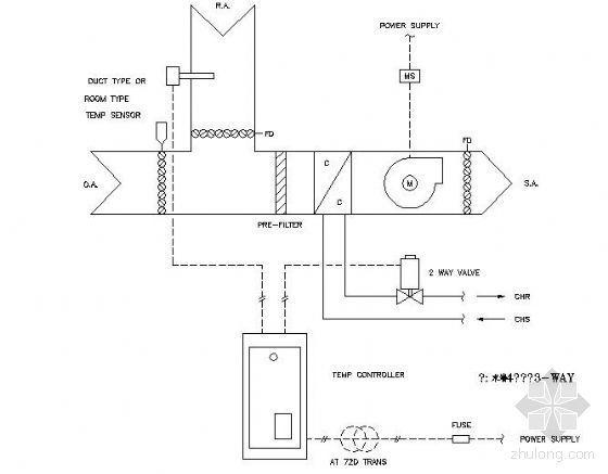 中央空调控制原理图