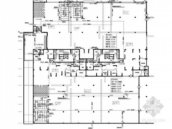 [广东]甲类地下车库给排水消防施工图