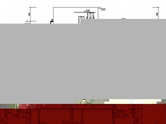 [湖北]物流港多层办公楼建筑施工图-多层不上人屋面办公楼建筑剖面图