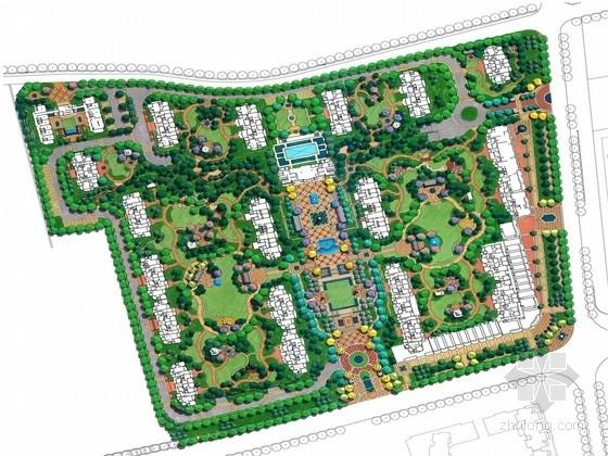 [青岛]精致别样庭院景观设计方案(国外知名设计公司)