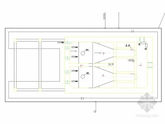 [浙江]污水泵站基坑土钉墙支护施工图(附计算模型)