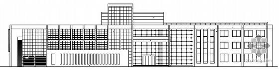 某三层高档会所建筑施工图