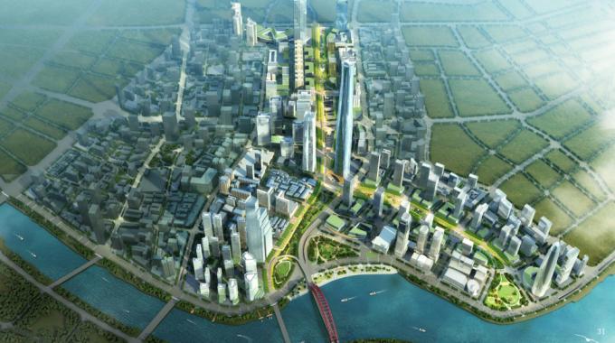 [湖北]生态海绵城市中央绿轴地下立体化商业广场景观绿化设计方案(2017最新)_8