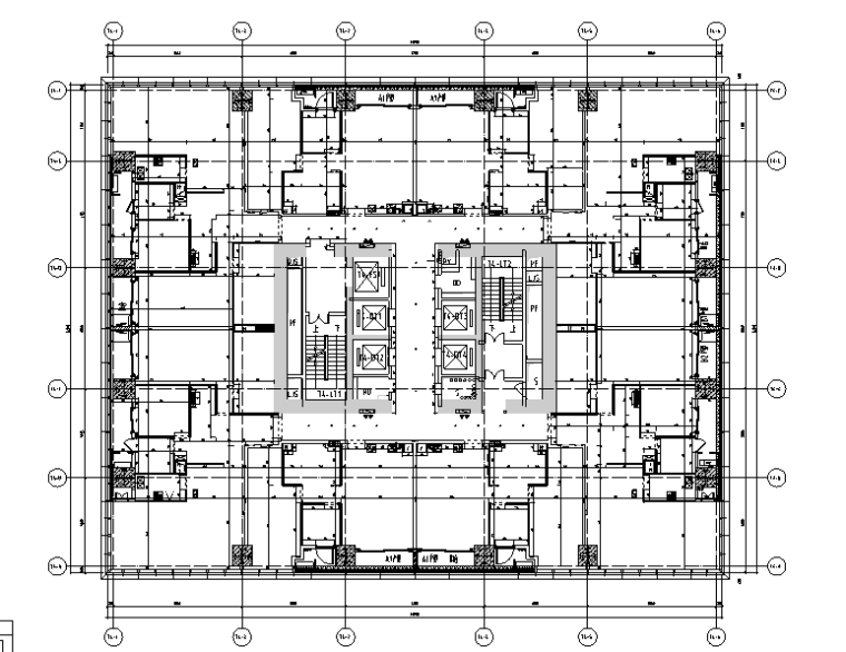 SCDA-华润公寓样板间B户型设计施工图(附效果图+物料表+软装)