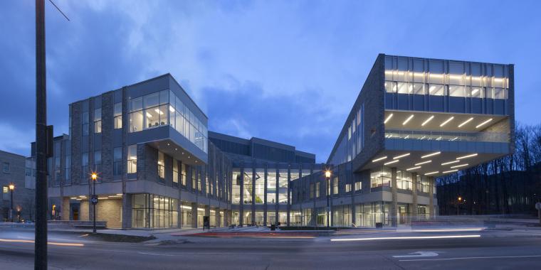 西安大略大学护理学院与信息媒体研究院教学楼-8