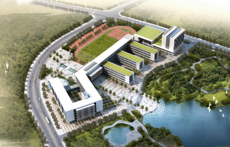 光明新区外国语学校建筑设计方案文本