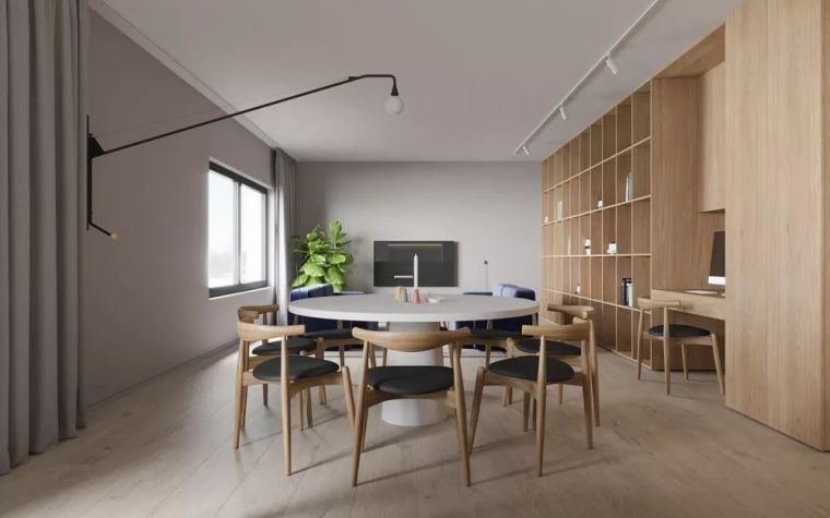 用木饰面装饰家,自然纯粹才是家该有的样子_9