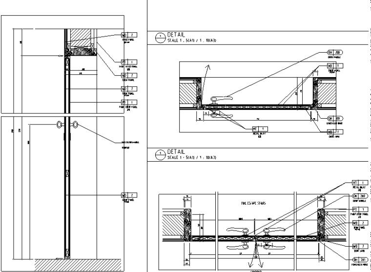 HBA制图规范+室内CAD图库+节点构造做法