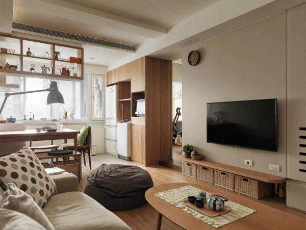 成都小户型空间的有效利用与设计,超赞的小公寓装修设计!