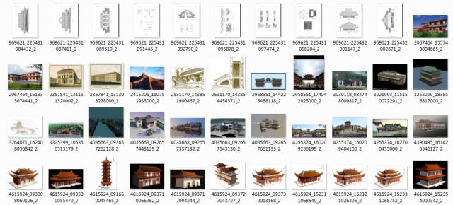 史上最全的仿古建筑施工图(已全部更新,提供打包下载