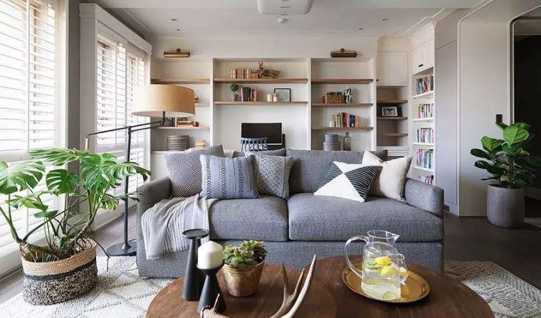 比起性冷淡的北欧风,这套120平的美式宅更温暖更抗寒
