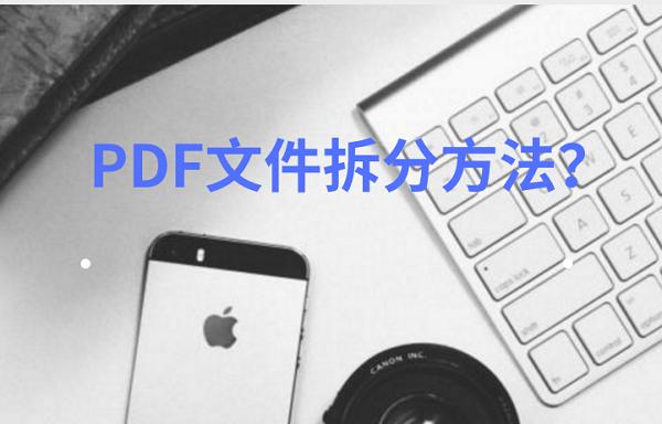 PDF文件拆分方法?教你几步解决!