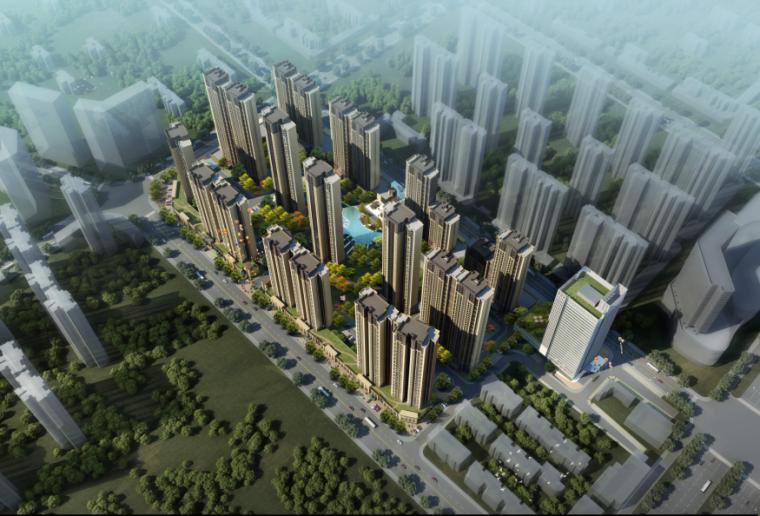 [武汉]保利高层住宅及超高层办公楼建筑方案文本(两套方案)_6