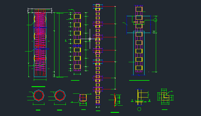 风井立柱桩工程钻孔桩及格构柱施工方案