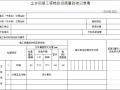 土方回填工程检验批质量验收记录表