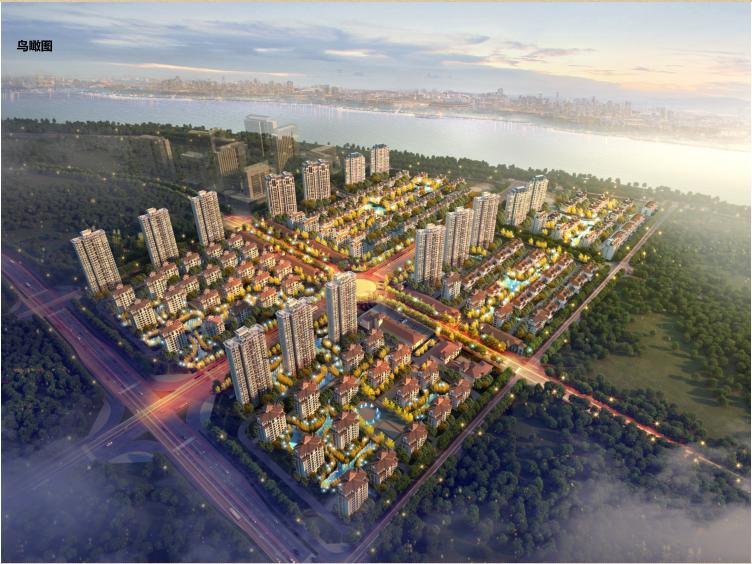 [湖北]16年设计地块概念规划设计(含住宅、洋房、别墅建筑)_1