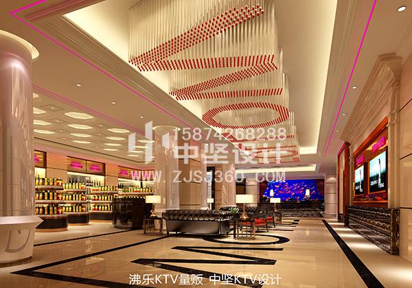 贵州大型KTV设计项目案例中坚KTV设计公司打造_4