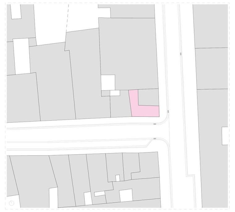 比利时一室小型酒店建筑平面图 (12)