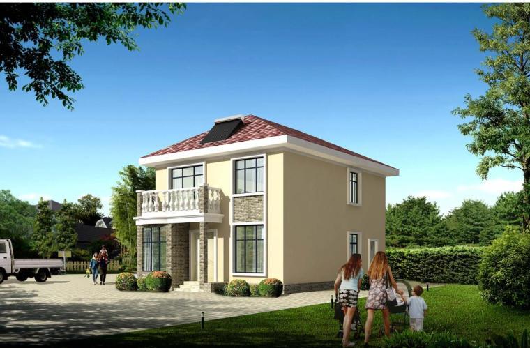 简约风格农村别墅建筑设计