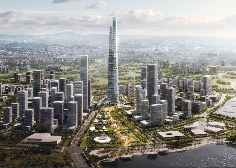 677米!或成中国第一高楼,成都超高层将超上海中心大厦