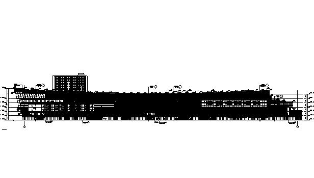 [江苏]五层购物中心商业建筑施工图(华润地产)