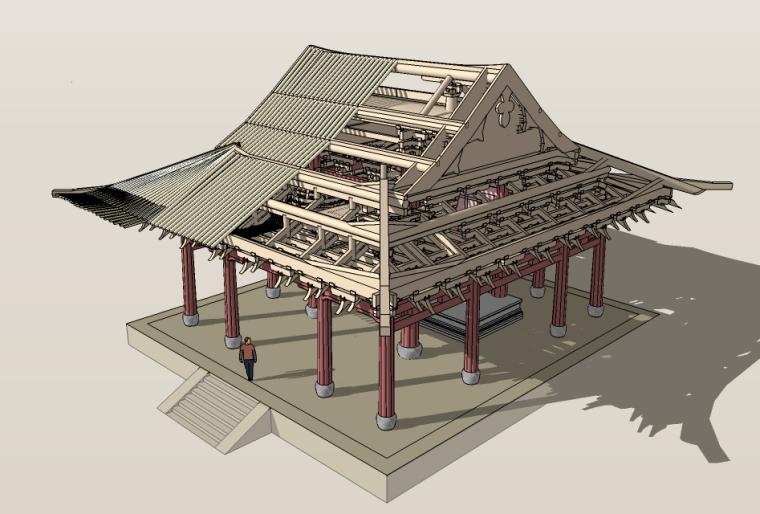 [分享]古建筑模型3d资料下载