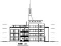 四层圆形平面造型幼儿园建筑施工图