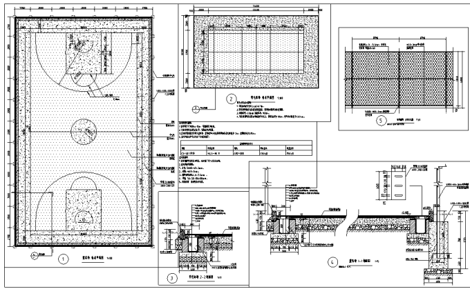 [重庆]生态组团式公租房景观设计全套施工图(园建+绿化+水电)_8