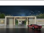 [湖南]长沙滨江某府居住区项目规划设计