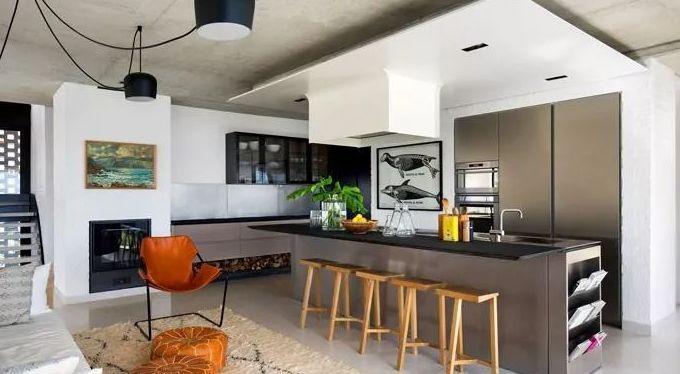 室内设计:厨房和餐厅最正确的打开姿势