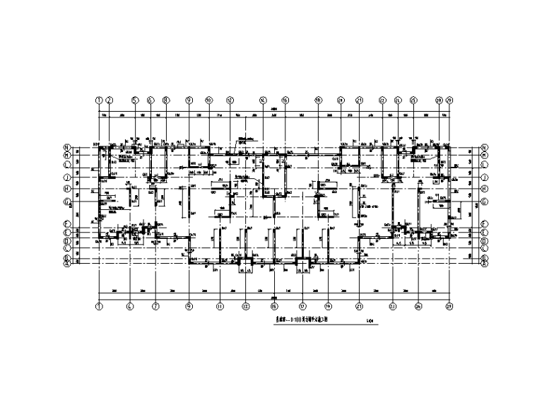 [济南]18层剪力墙结构住宅楼结构施工图(预应力混凝土管桩+条形承台基础)