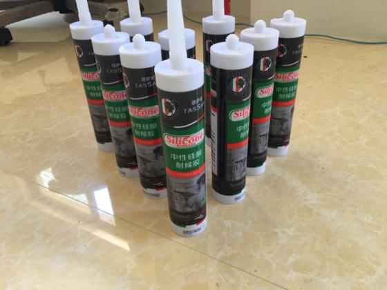 塔萨尼930硬支中性硅硐玻璃胶工厂批发