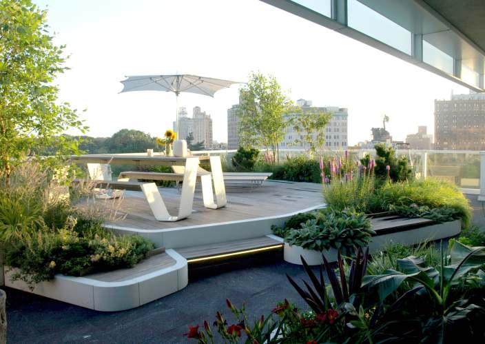 郁郁葱葱的屋顶花园-2