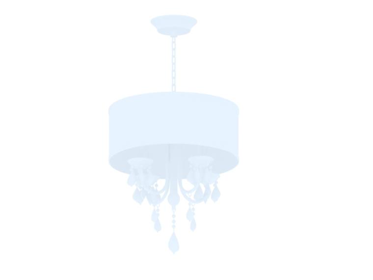欧式吊灯3D模型下载