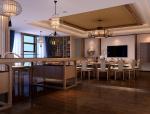 鼎坤室内茶楼设——三维空间设计
