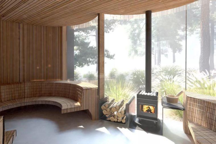 创意十足的顶级度假山庄设计,现代、自然、大气!_16