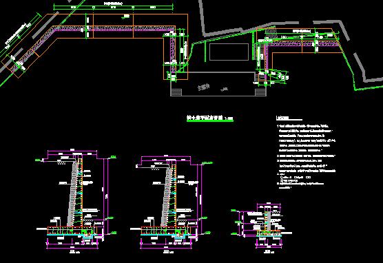 【广东】学校塑胶面层运动场及周边设施维修工程预算书(含图纸)_3