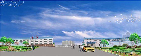 某工业园大门及环境设计效果图