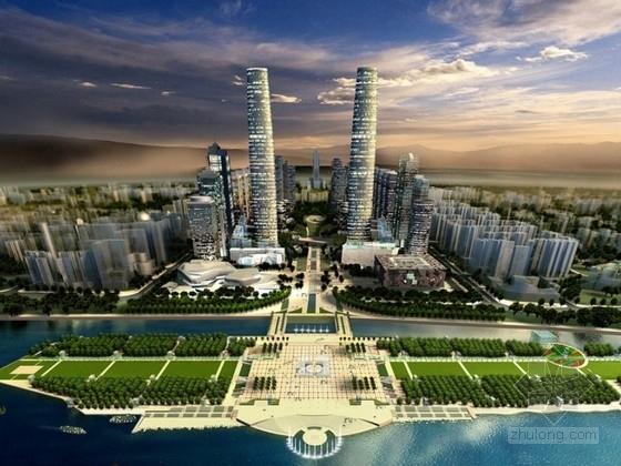 [广东]某大型商务区规划及单体设计方案文本