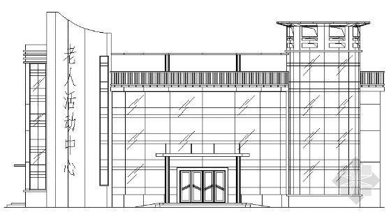 某市三层老人活动中心建筑设计方案
